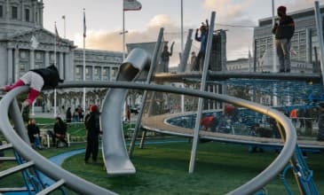Helen Diller Civic Center Playgrounds San Francisco