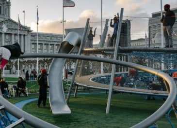 Helen Diller Civic Center Playgrounds San Francisco