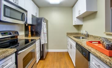 Orchard Glen Apartment Kitchen