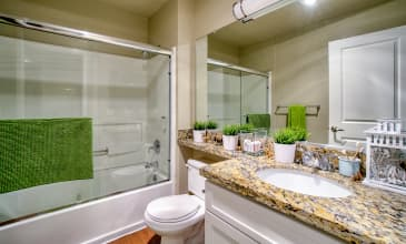 Orchard Glen Apartment Bathroom