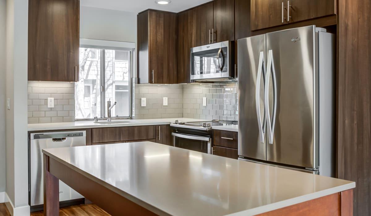 Forest Glen Apartment Kitchen