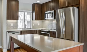 Forest Glen Apartment Kitchen