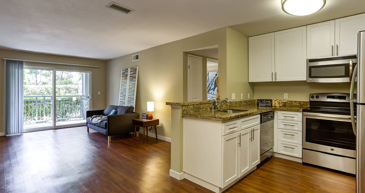 Kitchen and Family Room