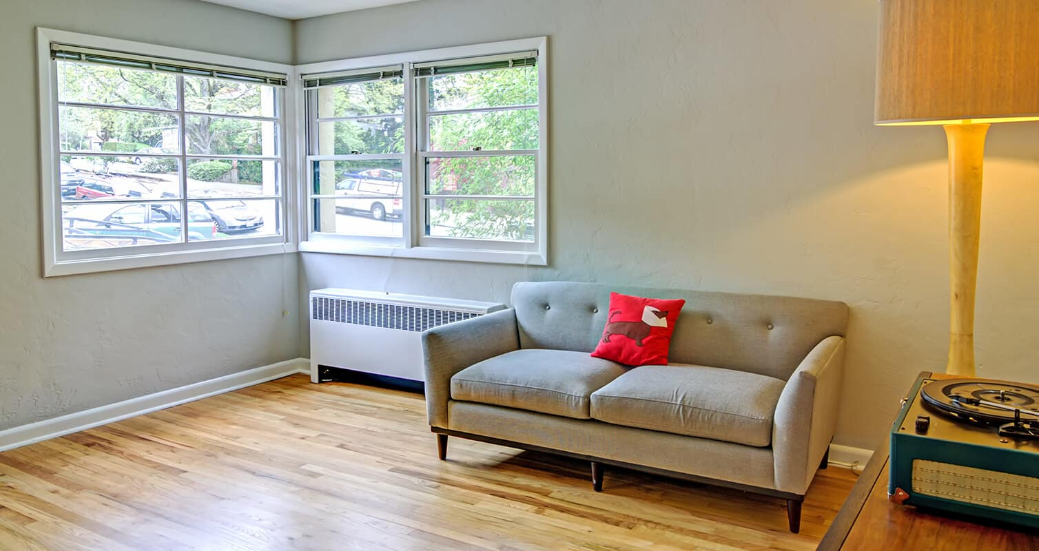 Living room with couch