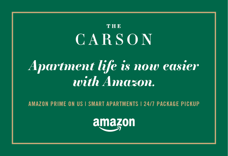 Life at The Carson is Now Easier with Amazon