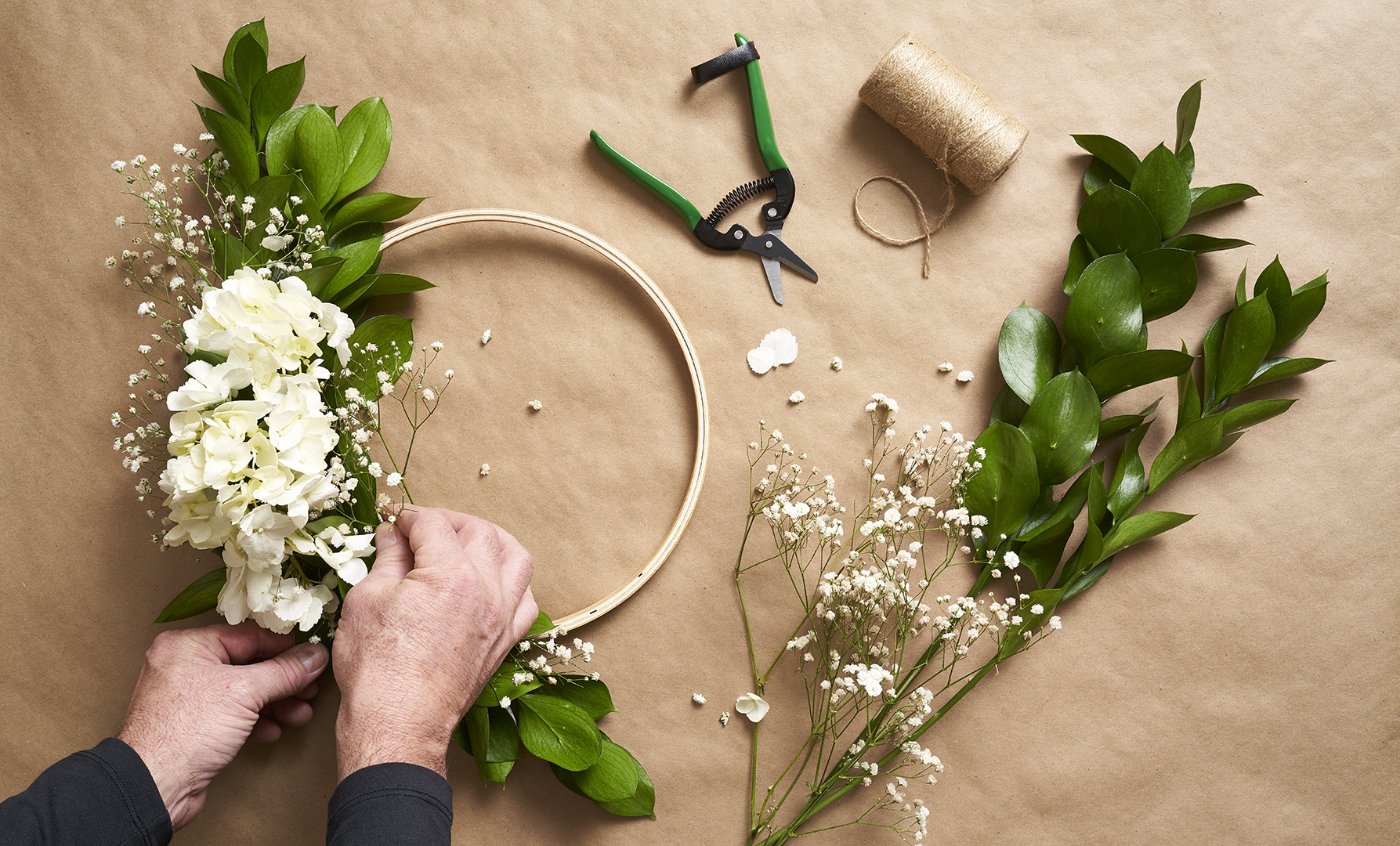 DIY Your Own Spring Wreath