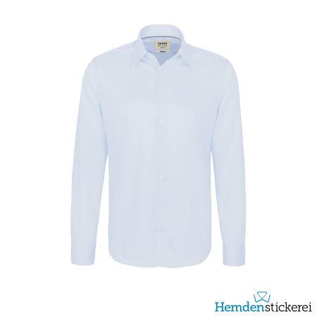 Hakro Herren Hemd 1/1 Arm Business Tailored Kent-Kragen Himmelblau