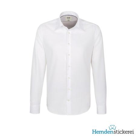 Hakro Hemd 1/1 Arm Business Tailored Kent-Kragen Weiß