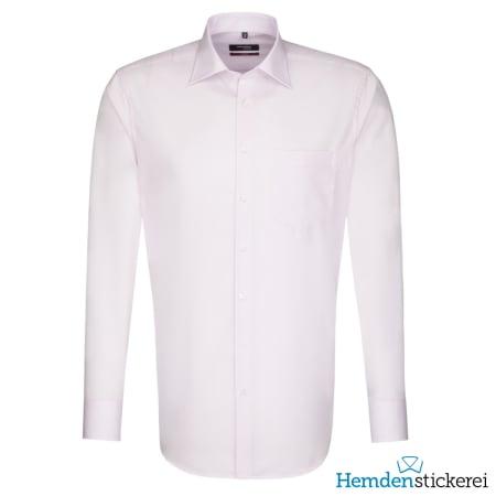 Seidensticker Hemd REGULAR 1/1 Arm Kent-Kragen Brusttasche Rosa