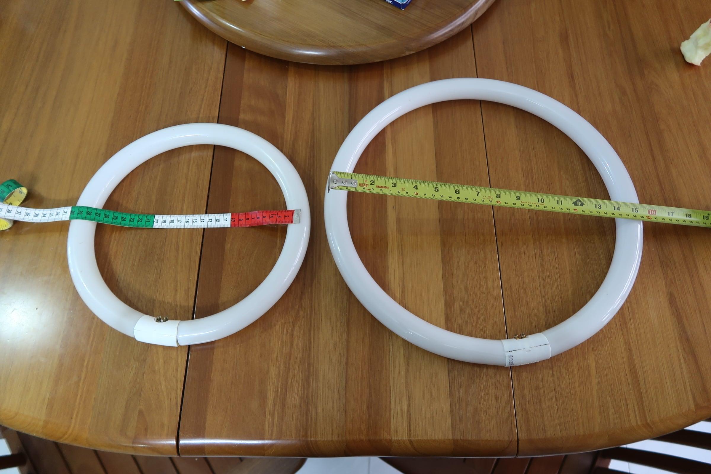 Round tubes, 30cm & 40cm
