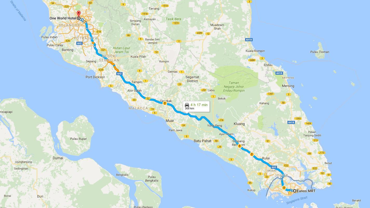Malaysian Peninsular