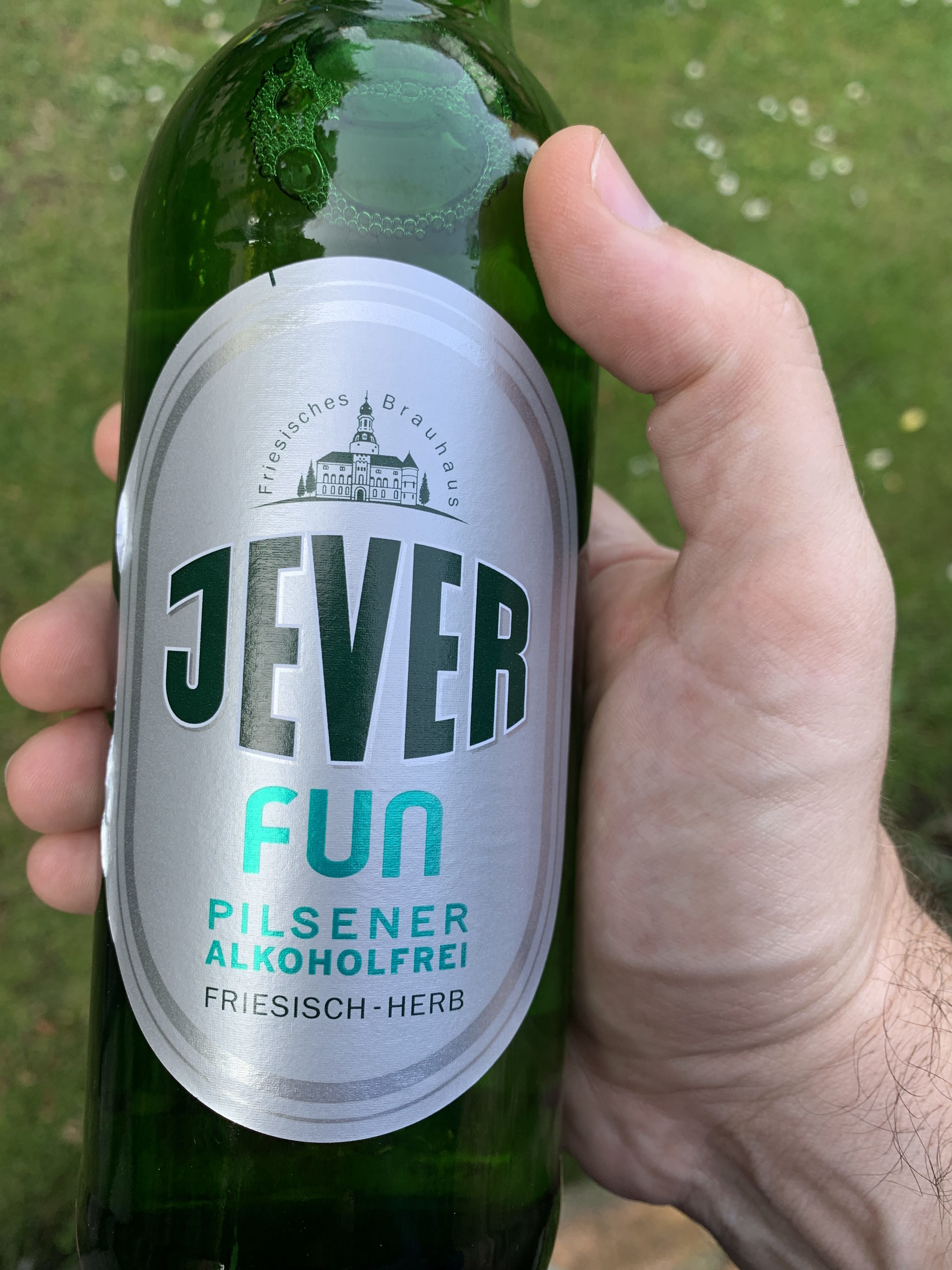 Jever alcohol free beer