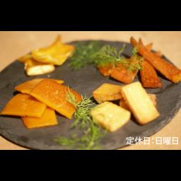 ※予約商品【ディナー限定】燻製チーズ盛り合わせ4種