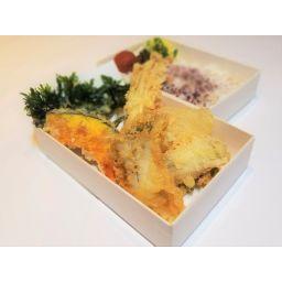 穴子とお野菜の天丼