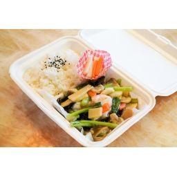 海鮮と旬野菜の薄塩炒め