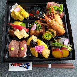 遊膳彩り箱