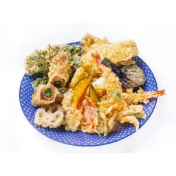 ヘルシーお野菜天ぷら9種