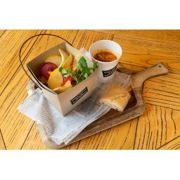 三浦野菜のサラダランチ ★パン・スープ付