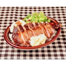 メス厳選リブ・ロース丼(熟成にんにく醤油ソース)