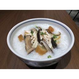 鶏肉とシイタケお粥