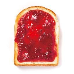 あまおういちごジャムトースト