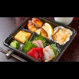 お刺身と焼魚セット