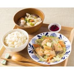 【北海道】鮭のちゃんちゃん焼きと十勝野豚汁