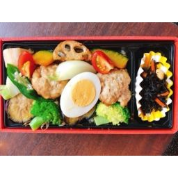 【平日ランチ限定】お野菜たっぷり豆腐ハンバーグ弁当