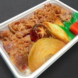 牛すき煮丼