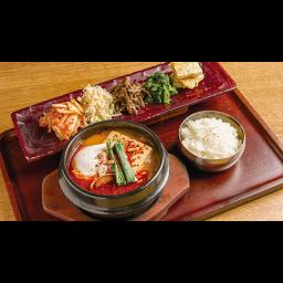 純豆腐(スンドゥブ)チゲ弁当