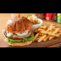 スイスチーズバーガー