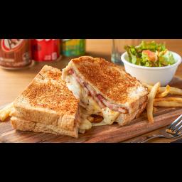 厚切りベーコン&グリルドチーズサンド