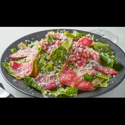 青木農園のロメインレタスと根菜のサラダ トマトドレッシング
