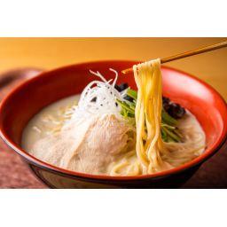 ご自宅で簡単に作れる極濃厚鶏白湯ラーメンセット