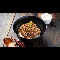 牛すじ丼(温玉付き)