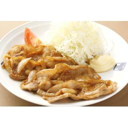 米沢豚の和風生姜焼き