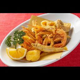 イタリア風ミックス魚介類のから揚げ