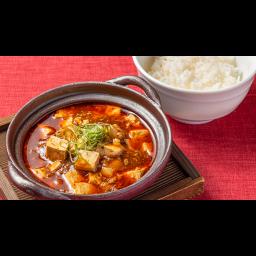 四川風麻婆豆腐丼