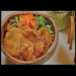 豚の生姜焼きボウル