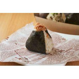 炙り鮭のおむすび