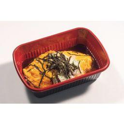 オムライス 山芋とオクラの和風ソース