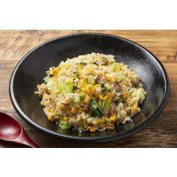 叉焼入り青菜炒飯