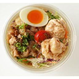 【当日10:45までのご注文/平日ランチのみ】豚生姜焼きと鶏からマヨボウル