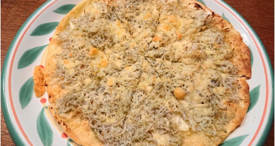 【ディナー限定】しらすピザ※前日18時までのご注文