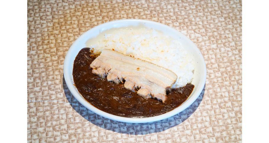 豚肉の煮込みカレー