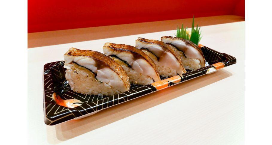 炙りトロ鯖寿司
