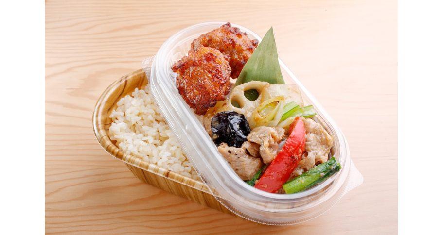 【前日11:00までのご注文】野菜炒めと唐揚げ弁当