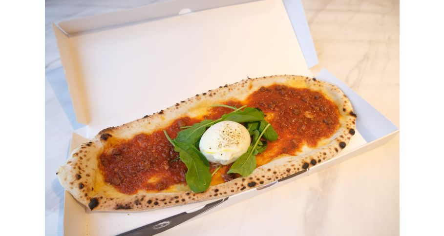 ビーフラグー、ブラータチーズ