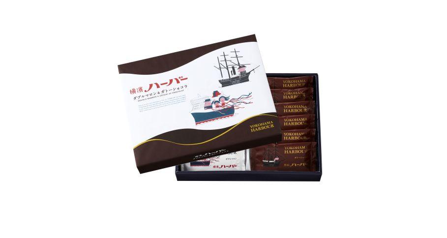 横浜ハーバーアソート ダブルマロン&ガトーショコラ12個