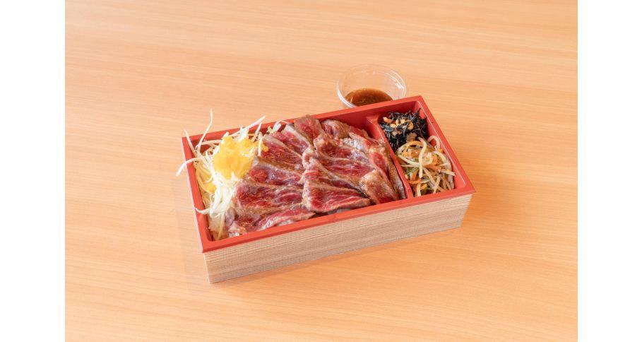 【雪室熟成】牛ステーキ丼